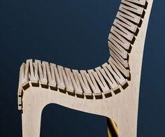 Zig Zag Chair By Randy Weersing