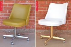 Before & Afters by the Dozen: 12 Amazing Vintage Chair Makeovers | Apartment Therapy