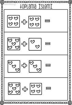 emel's media content and analytics Kindergarten Addition Worksheets, Kindergarten Math Activities, Preschool Writing, Kindergarten Math Worksheets, Math Tutor, Math Literacy, Simple Math, Special Education Math, Homeschooling