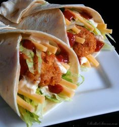 Domowe Snack Wrap jak z McDonald's Tacos, Food And Drink, Mexican, Ethnic Recipes, Gastronomia, Marriage, Mexicans