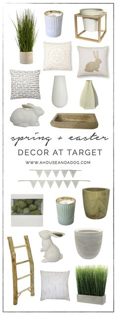 spring easter decor at target has me so ready for spring this year ive rounded up a few of my favorite decor items for this weeks target thursday