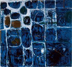 William Scott, Gaelic Landscape, 1961–2, Oil on canvas, 160 × 174 cm / 63 × 68½ in, Private collection