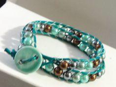 Favorite Teal Deal bracelet (Lima Beads Design Gallery)