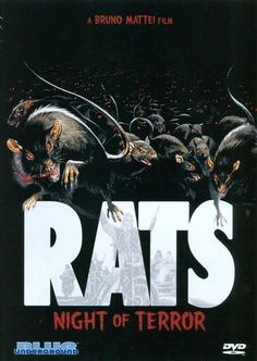 Rats - Notte di terrore [DVD, 2 of 13 high-resolution movie posters in this group. Horror Movie Posters, Horror Films, Film Posters, Horror Dvd, Terror Movies, Scary Movies, 1984 Movie, Night Terror, Scary Art