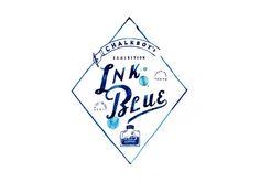 チョークボーイ 個展「INK BLUE」