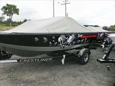 Crestliner Boat Graphics | Fish Graphics