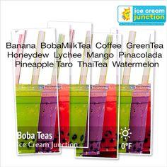 Boba Tea Shakes