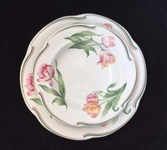 Christian Dior Provence Collection Normandie Dinner Plate Salad or Soup Bowl #ChristianDiorProvenceCollection