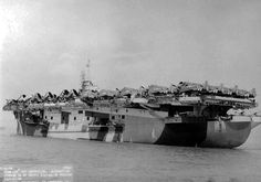 USS Copahee CVE 12  Naval Ship Photo Print USN Navy