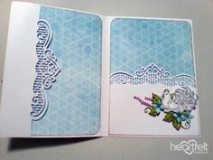 EZ Step by Step Tutorial: File Folder Card - Heartfelt Creations