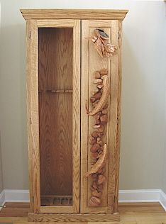 fly rod cabinet