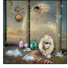 "Digital Art by *Silkku* ""Alice in Wonderland"" silkkus.blogspot.fi"