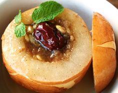 Baesuk: Korean steamed pear -- for a cold or for a delish snack/dessert