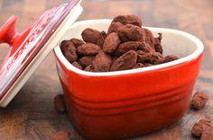 Forskellige mandler - lakrids, spicy, salty, og chokolade