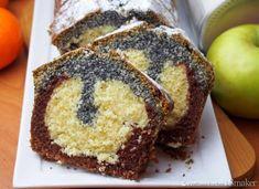 Trójkolorowa babka Sweet Bread, Banana Bread, French Toast, Muffin, Food And Drink, Sweets, Cookies, Breakfast, Breads