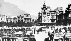 Parade sales in early twentieth-century Cape Town Old Pictures, Old Photos, Vintage Photos, Most Beautiful Cities, Historical Pictures, African History, Cape Town, Homeland, Live