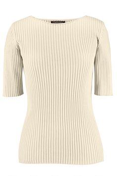 bb7335570ba Elbow Sleeve Crew Neck Sweater