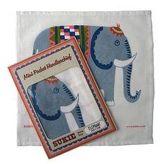 Animal Print Mini Cotton Handkerchief