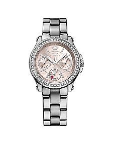 Love pedigree silver juicy couture watch