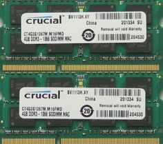 Ram memory upgrade 8GB kit (2 x 4GB) DDR3 PC3 8500 1067MHz 204 PIN SODIMM for 2009 and 2010 Apple Mac mini