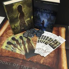 Enter to win THE REMNANT CHRONICLES Pin to Win sweepstakes! Prizing includes a signed copy of THE KISS OF DECEPTION, a signed bookmark, Kiss of Deception quote pin, and an ARC of THE HEART OF...