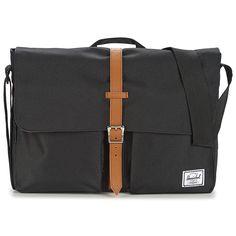 Herschel COLUMBIA Zwart Herschel, Columbia, Messenger Bag, Satchel, Backpacks, Bags, Fashion, Handbags, Moda