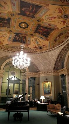 Steinway Hall in NY
