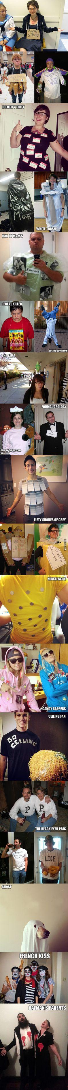 Last-minute Halloween costumes - 9GAG                                                                                                                                                                                 More