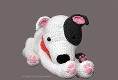 Staffordshire Bull Terrier Pit Bull American Staffordshire Terrier Crochet Pattern online!