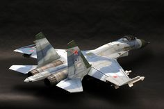 Sukhoi Su-27 Flanker Fighter