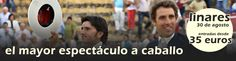 Hoy comienza la feria de Linares... Ponce, Curro Díaz, El Fandi, Sebastián Castella, Alejandro Talavante... y el mejor espectáculo a caballo... http://www.toroticket.com/140-entradas-toros-linares