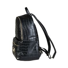 Versace Jeans, Fashion Backpack, Dust Bag, Handle, Backpacks, Pockets, Zip, Interior, Leather