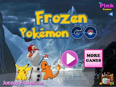 Frozen Pokemon Go  http://playfrozengames.com/frozen-games/frozen-pokemon-go