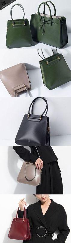726c3c44e Genuine Leather handbag shoulder bag large tote for women leather shopper  bag