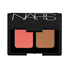 Layer Your Blush And Bronzer: Lightly applying a blush on your cheeks, chin, forehead and bridge of the nose, under your bronzer will give you a slight flush. This looks like you're a tad burned, making your tan look more believable.