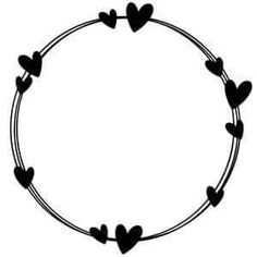 doodles Silhouette Design Store - View Design heart circle doodle frame Types Of Wood Floor Doodle Frames, Doodle Art, Heart Doodle, Silhouette Design, Silhouette Store, Silhouette Frames, Machine Silhouette Portrait, Circle Doodles, Heart Hands Drawing