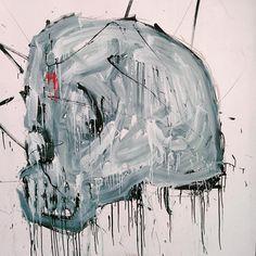 #skull #01 #painting on #wood #panel #igersitalia #igeroftheday #artecontemporanea #contemporaryart #streetstyle #graffiti #graffitiart #kunstwerk #kunst #instagood #instaart #instaartist #artecontemporanea #artecontemporaneo #arteurbano #arteveryday #italianartist #italianart #streetart #urbanart #death #life