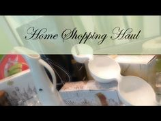My Home Shopping Haul: http://www.youtube.com/user/athomewithnikki
