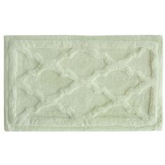 Jessica Simpson  Penelope Bath Rug 21-In. X 34-In. (39 CAD) ❤ liked on Polyvore featuring home, bed & bath, bath, bath rugs, papyrus, cotton bathroom rugs and cotton bath rugs