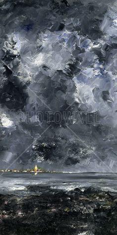 City, August Strindberg - Tapetit / tapetti - Photowall