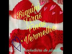 BIQUINI TOMARA- QUE- CAIA /DIANE GONÇALVES - YouTube Crochet Bikini Pattern, Crochet Patterns, Free Pattern, Diy And Crafts, Delicate, Neon Signs, Bikinis, Womens Fashion, Color
