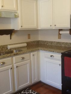 Making Progress. Granite Installed. Will Change Out Switch Plates And  Install Faucet Tomorrow. Advance PaintCabinet ...