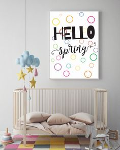 mock up poster frame in hipster room, scandinavian style interior. Baby Prints, Nursery Prints, Nursery Room, Nursery Wall Art, Girl Nursery, Girls Bedroom, Nursery Decor, Bedroom Wall, Wall Decor