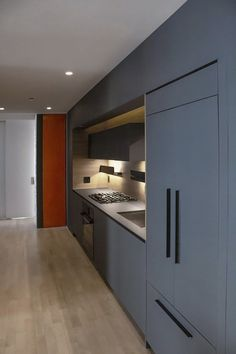 (Last Updated On: May Manhattan Apartment Renovation I am an architect and owner of Fontan Architecture. As an architect in NYC with an office in Manhattan we renovate apartment all over the city. Kitchen Renovation Design, Kitchen Design Open, Apartment Renovation, Contemporary Kitchen Design, European Kitchen Cabinets, European Kitchens, Modern Kitchen Island, Modern Cabinets, One Wall Kitchen