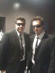 With Richie back stage at 1st face gig #music #love #backstage #classy #MIB