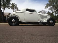 1934 Ford Three Window Coupe Street Rod