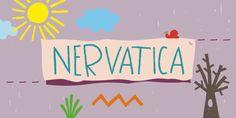 Nervatica (Font Friday via Super Swoon)