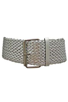 Wide Weave Braided Corset Belt
