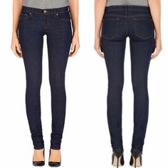 J Brand 912 Pencil Leg Denim The Pencil Leg is tapered at the ankle and is a staple of any woman's wardrobe. Wear them with flats or heels, and they are still killer with ankle-high or knee-high boots. Size 27. -Color: Pure -Low rise. -Like new.  -Sold out online!  NO trades. Please make all offers through offer button. J Brand Jeans Skinny