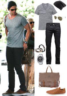 Chris Hemsworth casual style=like!!